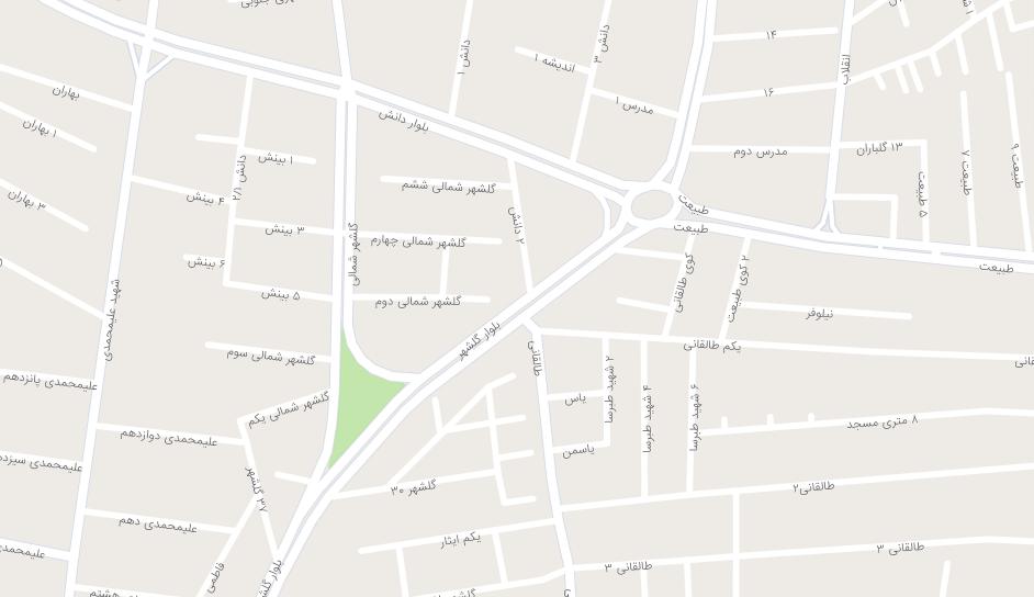 نقشه آدرس مکان شرکت یار